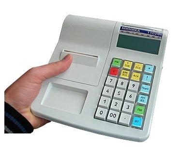 заправка чековой ленты миника 1102ф